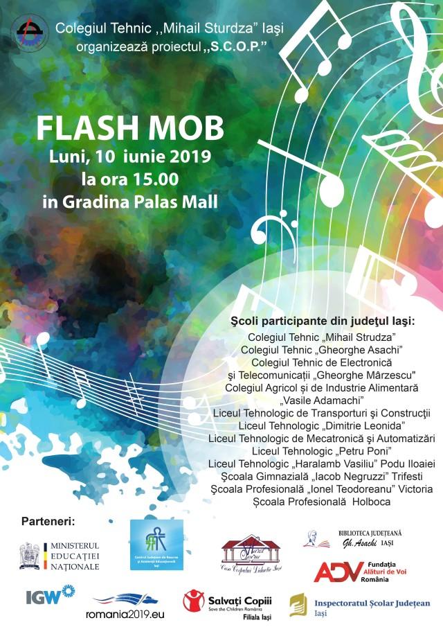 Afiș- flash mob